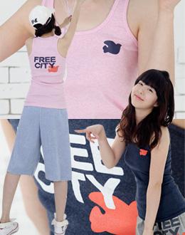 프리앤시티(9419)빅사이즈여성 티셔츠 티 롱티 면티 민소매 나시티 박스티 빅사이즈티 바지 여성빅사이즈 의류 큰옷